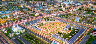 Vị trí dự án Bình Dương Avenue City Bến cát