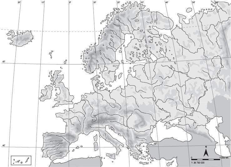 Mapa Mudo Fisico Europa Para Imprimir A4.Mapa De Europa Mas De 250 Imagenes De Calidad Para Imprimir