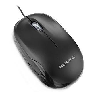 Mouse Multilaser 1200DPI USB - MO255