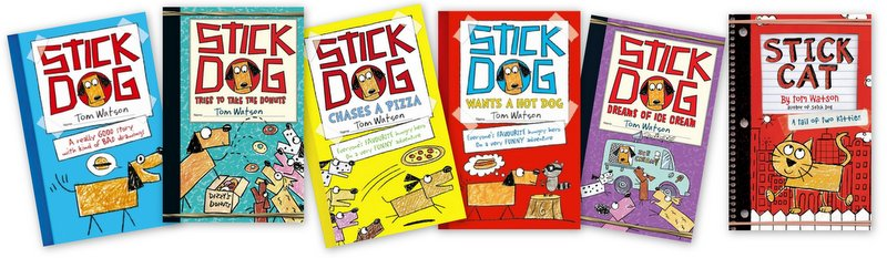 Image result for stick dog series