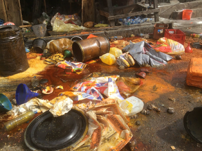Crisis in Idi Oro, Mushin As Rival Gangs Cause Mayhem – See Photos
