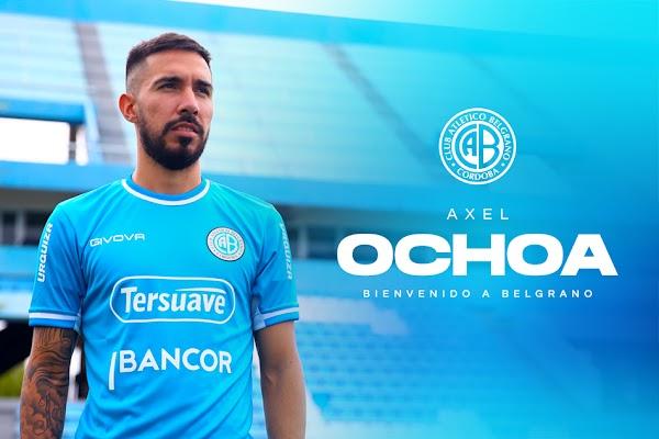 Oficial: Belgrano, firma cedido Axel Ochoa