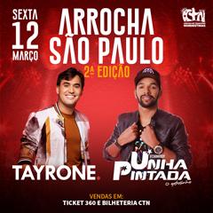 12/03/2021 Shows de Tayrone e Unha Pintada em São Paulo [CTN Limão] Centro de Tradições Nordestinas