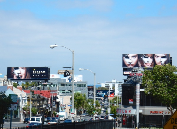 Scream season 2 MTV billboards