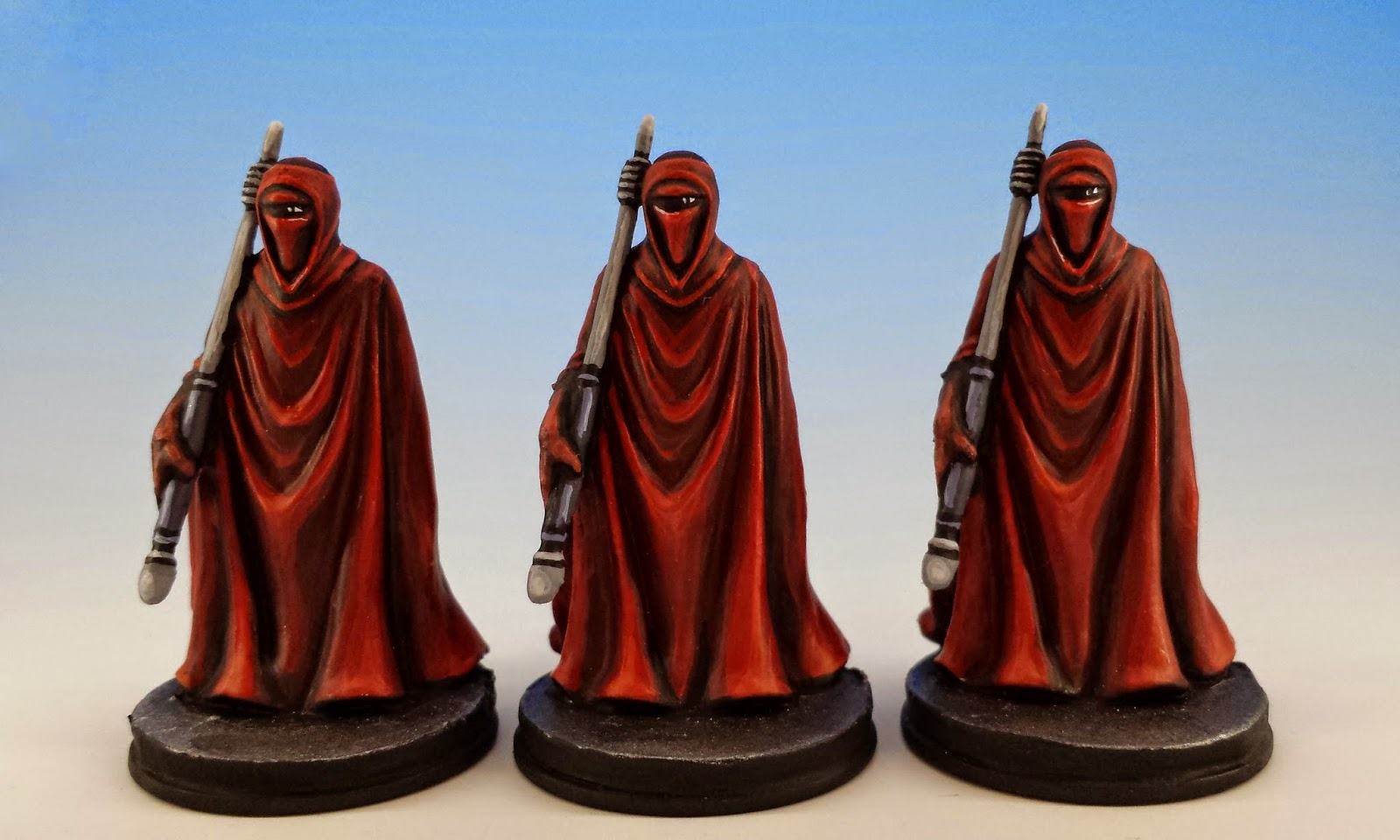 Royal Guard, Fantasy Flight Games (2014, sculpted by Benjamin Maillet, painted by M. Sullivan)