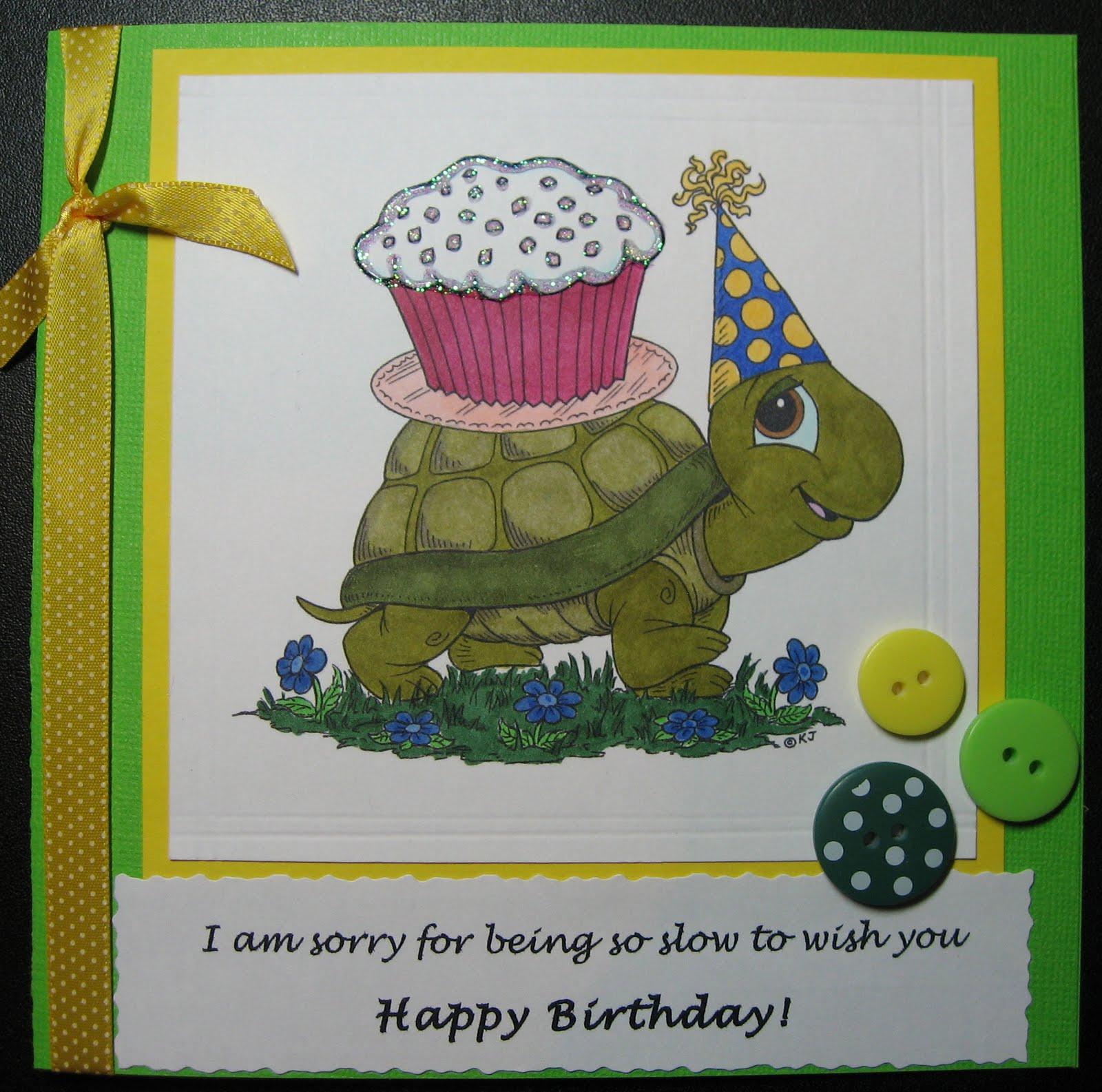 IDOCRAFTS: Slow Birthday Wishes