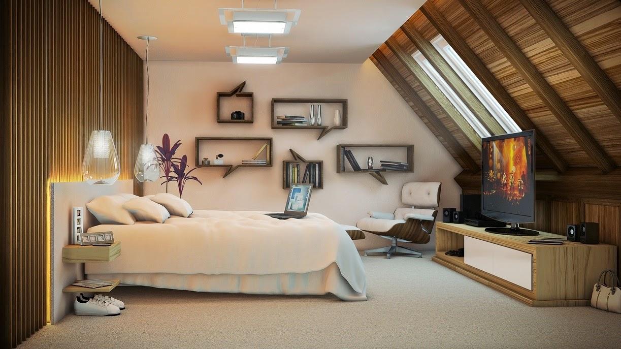 Cómo sería tu dormitorio...