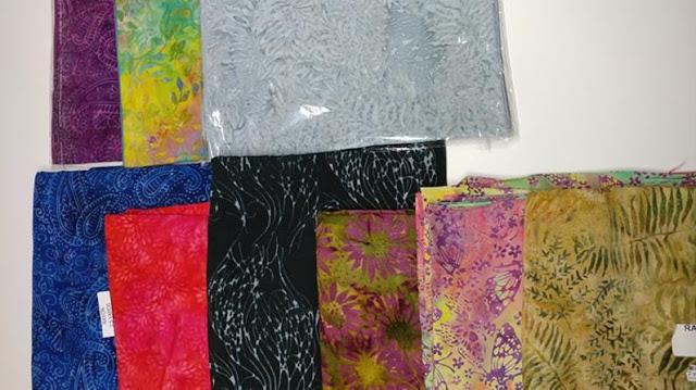 Island Batik rayon fabrics