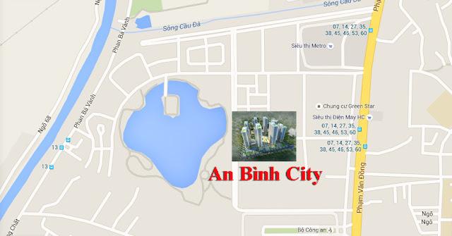 Vị trí chung cư An Bình City