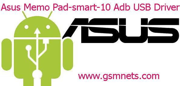 Asus Memo Pad-smart-10 Adb USB Driver Download