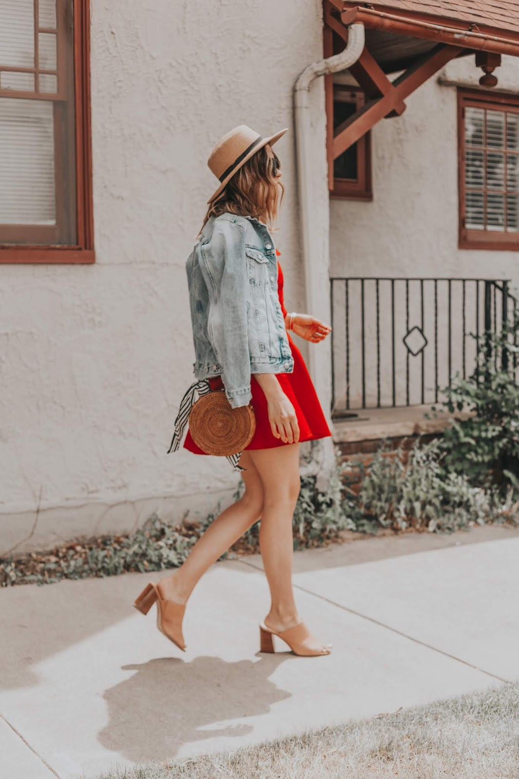 The Perfect Red Summer Dress for 4th of July featured by popular Colorado fashion blogger, Leah Behr