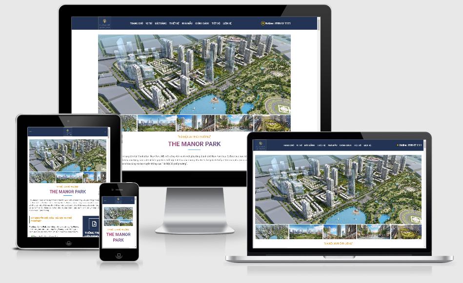 Landing page bất động sản đẹp | Mẫu landing page bất động sản chuyên nghiệp
