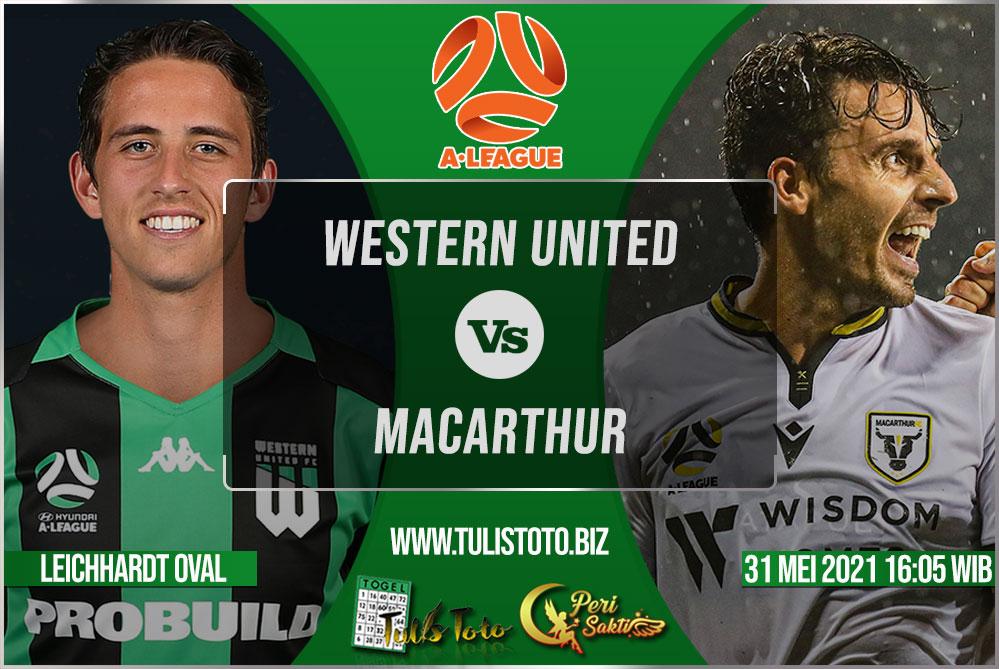 Prediksi Western United vs Macarthur 31 Mei 2021