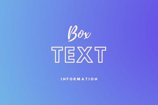 Memasang Kotak Text Informasi Pada Blog Dengan Full Animasi