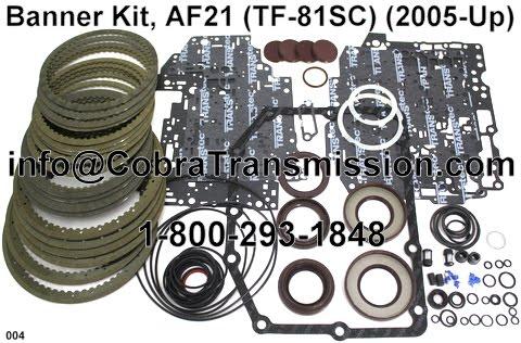 Cobra Transmission Parts 1-800-293-1848: TF-80SC / 81SC Valve Body Sidelined?