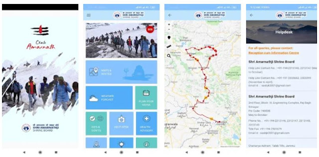 Download & Install Shri Amarnathji Yatra Mobile App