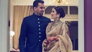 Zaheer Khan and Sagrika Ghatge soon to be parents