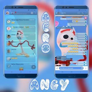 Random Theme For YOWhatsApp & Fouad WhatsApp By angy fénix
