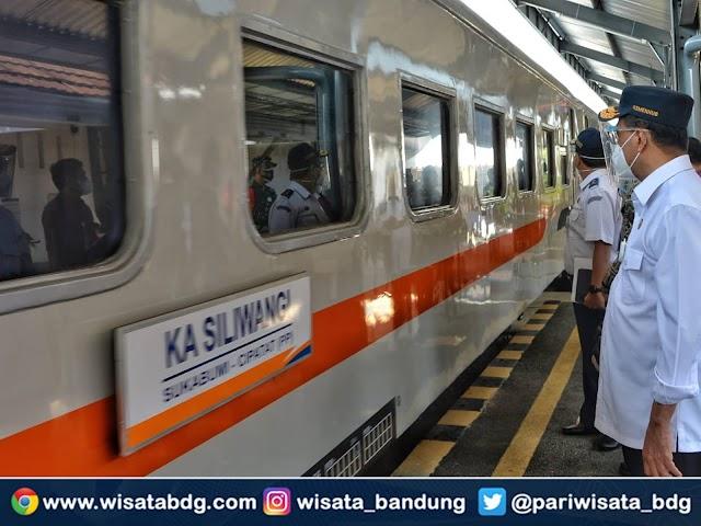 Ini Jadwal dan Harga Tiket KA Siliwangi Sukabumi – Cipatat Serta Info Tiket Gratis KA Rute Ciranjang – Cipatat