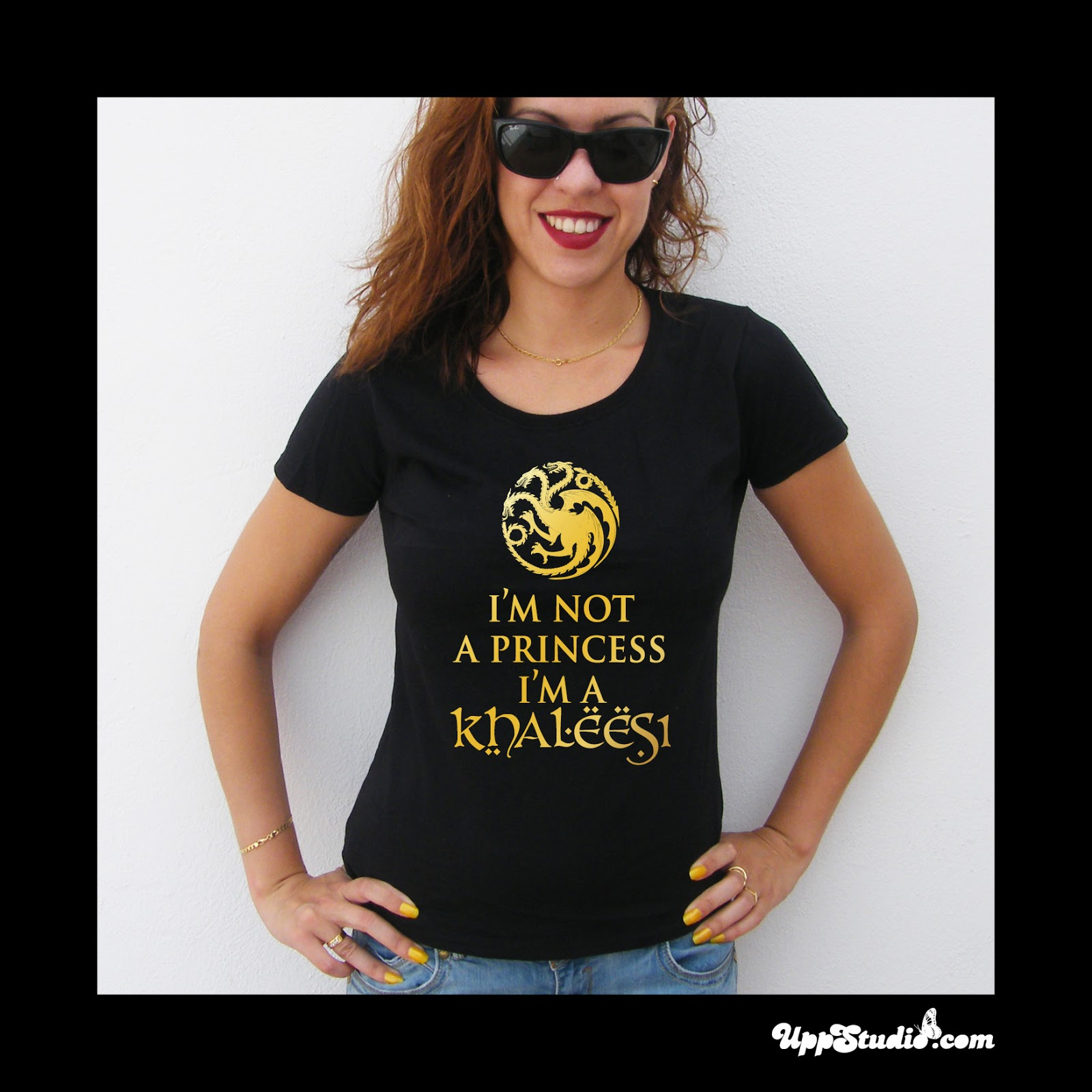 Camiseta I'm Not A Princess I'm A Khaleesi