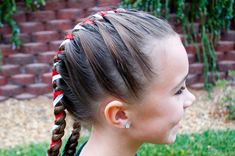 Marvelous Princess Piggies Holiday Hairstyles Candy Cane Short Hairstyles For Black Women Fulllsitofus