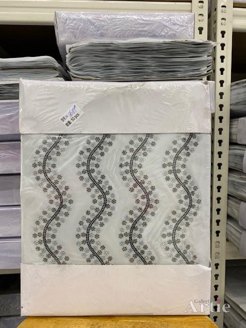 Hotfix stickers dmc rhinestone aplikasi tudung bawal fabrik pakaian bentuk beralun wavvy