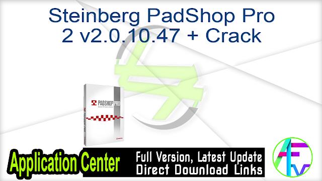 Steinberg PadShop Pro 2 v2.0.10.47 + Crack