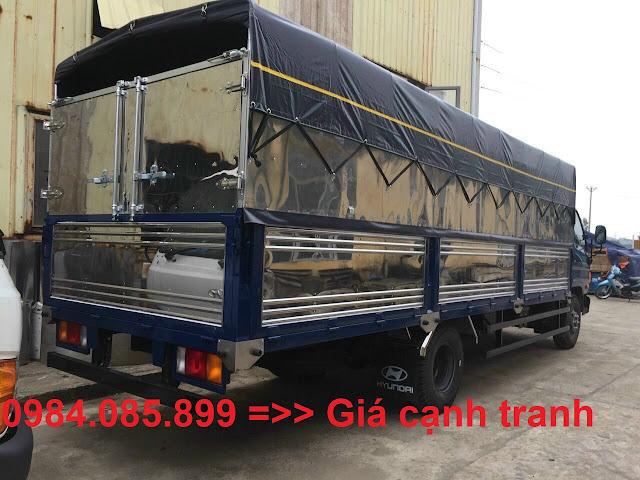 Xe tải Hyundai 7 tấn thùng dài 6m3