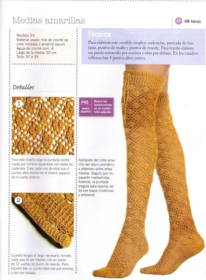 calcetines clásicos, crochet, restos de lana, calcetín, tutorial