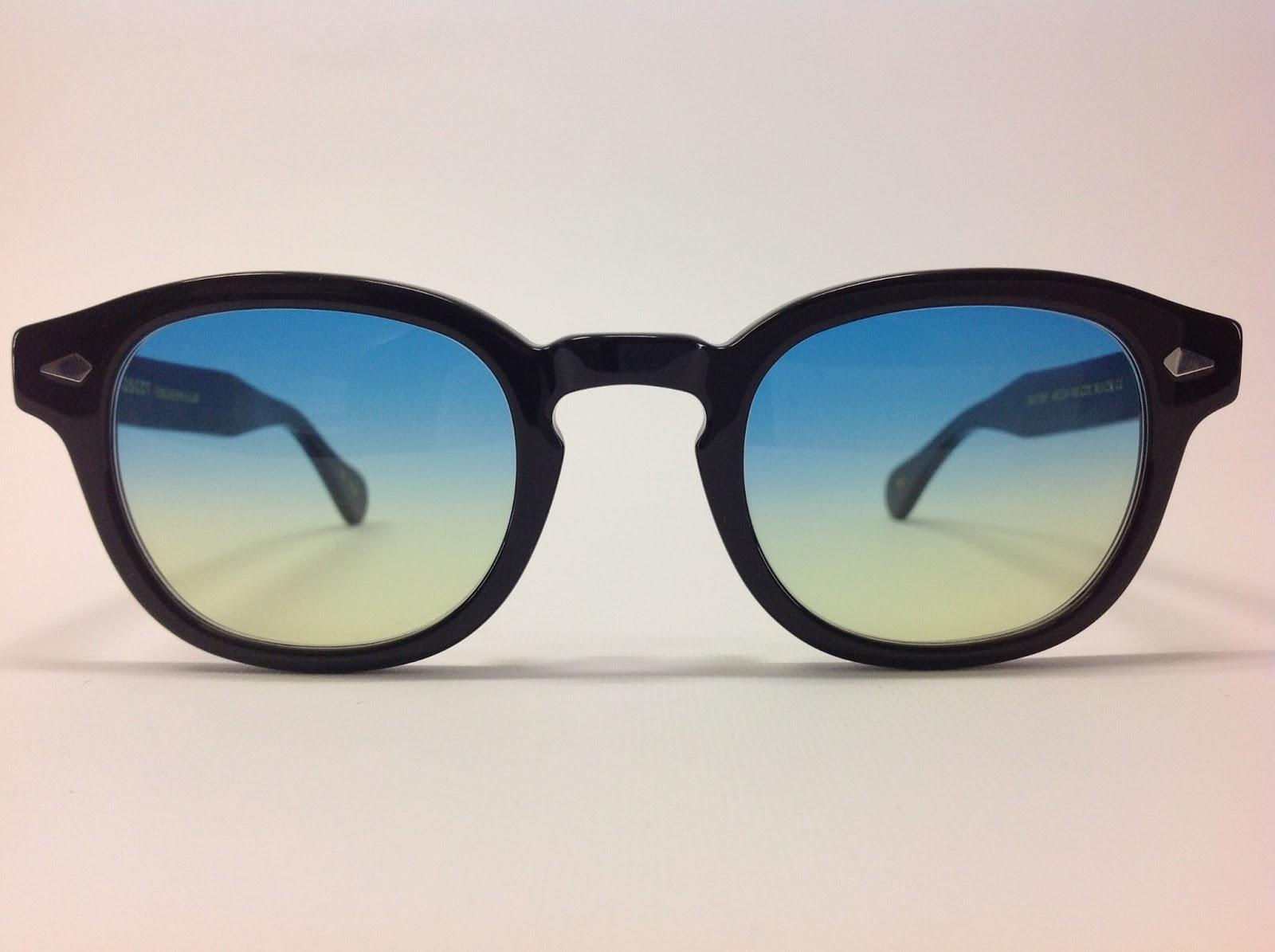 comprare a buon mercato buona vendita pacchetto alla moda e attraente Moscot occhiali lemtosh marrone con lenti sfumate ...