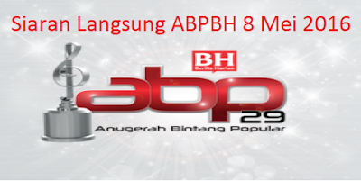 live streaming ABPBH 8 Mei 2016