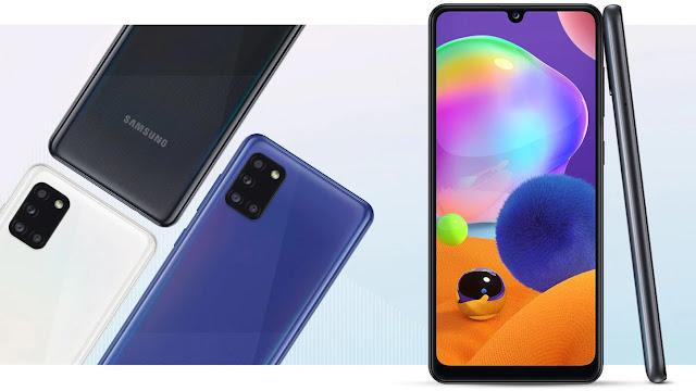 Samsung Galaxy A31 Full Spesifikasi & Harga Terbaru