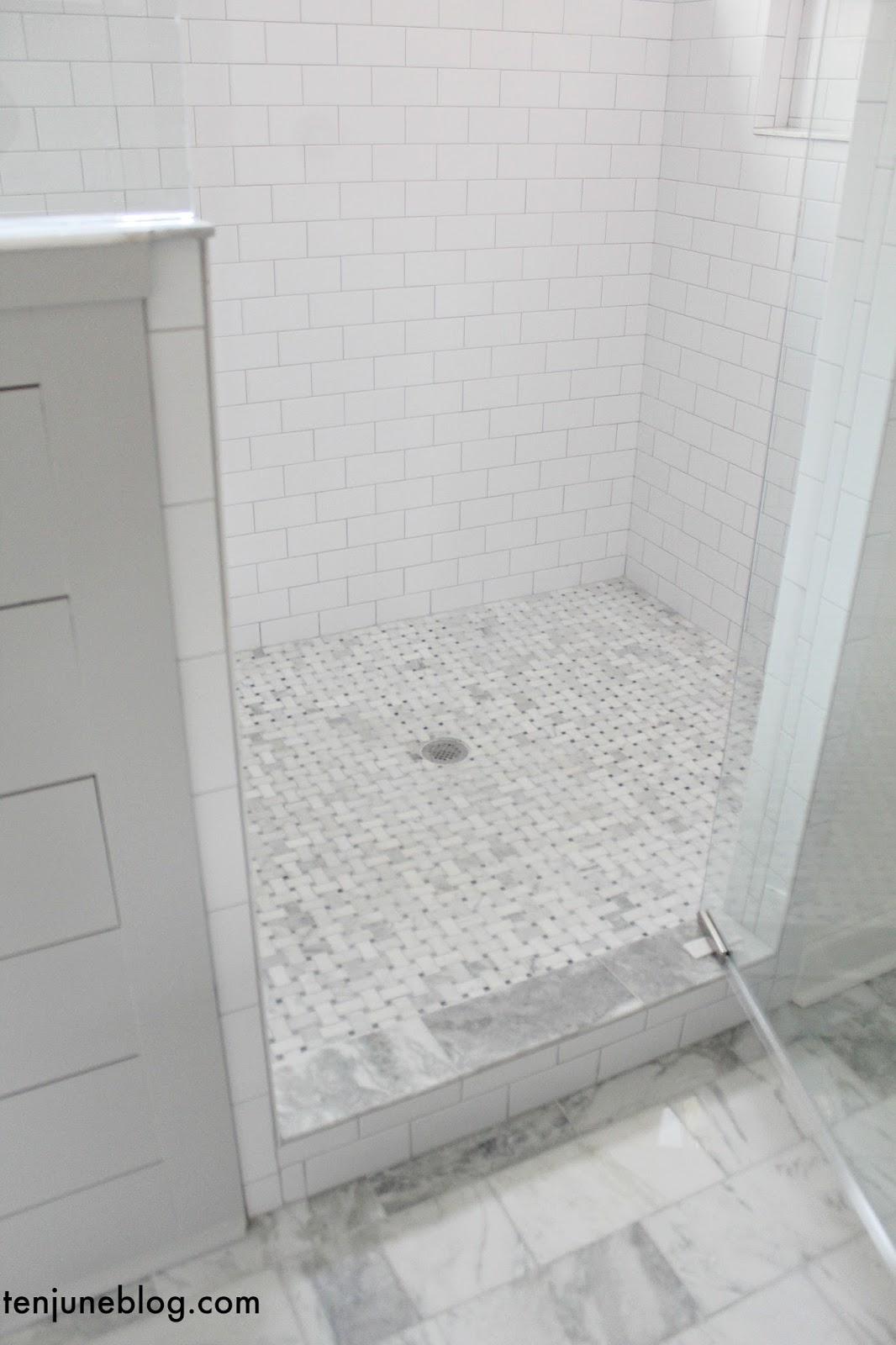 Ten june building our farmhouse tile grout sources master bathroom shower wall tile master bathroom shower floor tile master bathroom grout all rolling fog dailygadgetfo Choice Image