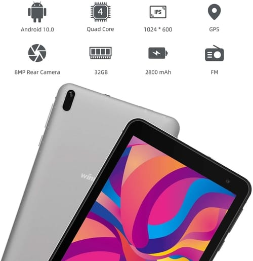 Review Winnovo US-TS7 7-Inch Tablet Android 10.0