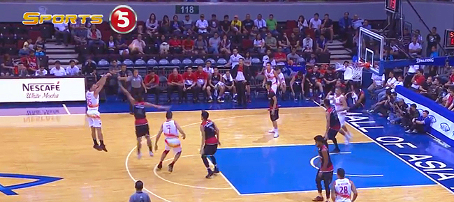 Matthew Wright Catches Fire From Downtown vs. Mahindra (VIDEO)