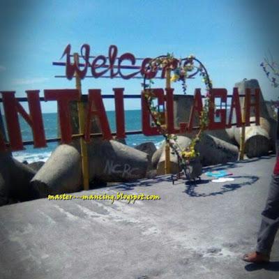 Mancing di Pantai Galagah indah via Bugel