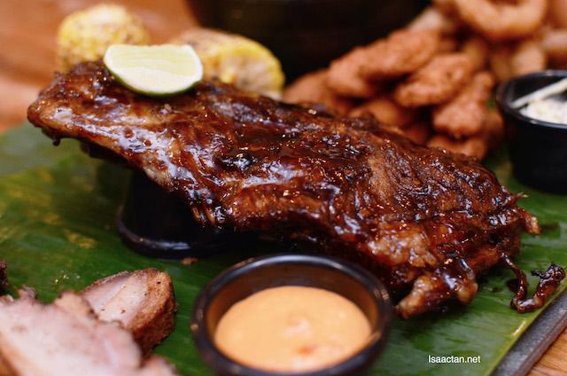 BBQ Iberico Ribs