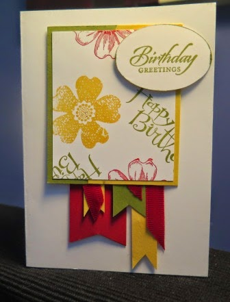 Random Stamping and banners with zena kennedy independent stampin up demonstrator Australia