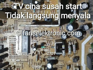 tv cina susah start standby lama