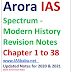 Arora IAS Spectrum Modern History of India Revision PDF Notes Download in Hindi