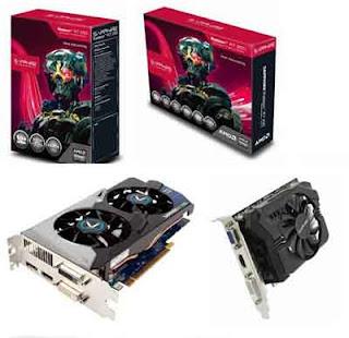 SAPPHIRE Radeon tipe R7 250 untuk gaming