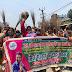 ज़न अधिकार महिला परिषद के द्वारा आक्रोश मार्च निकालकर मुख्यमंत्री का विरोध