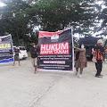 Tanah Abdul Hamid Diduga  Diambil Pemerintah, Ratusan Pendemo Seruduk Kantor Bupati Wajo
