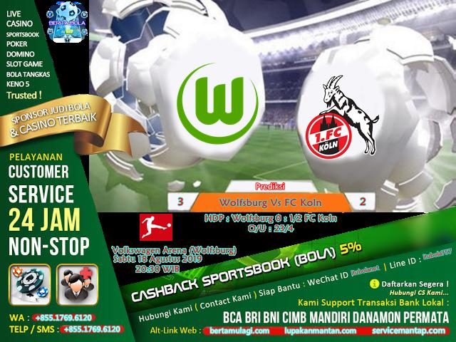 Prediksi Wolfsburg Vs FC Koln - ituBola