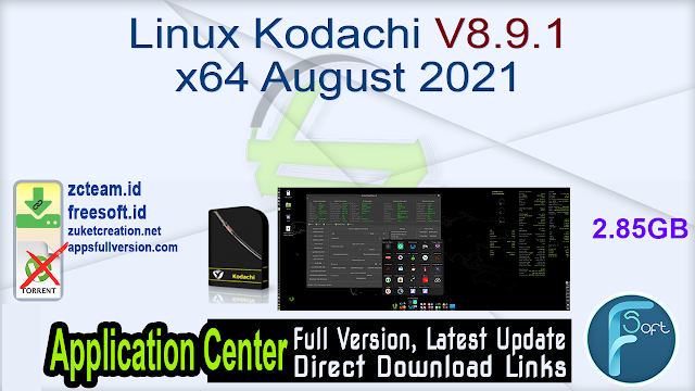 Linux Kodachi V8.9.1 x64 August 2021