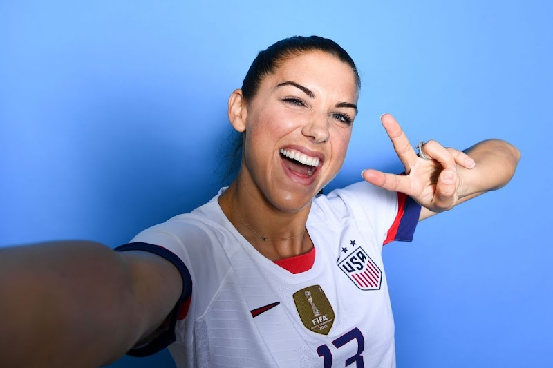 Alex Morgan Clicks For Fifa World Cup USA Team Portraits - June 2019