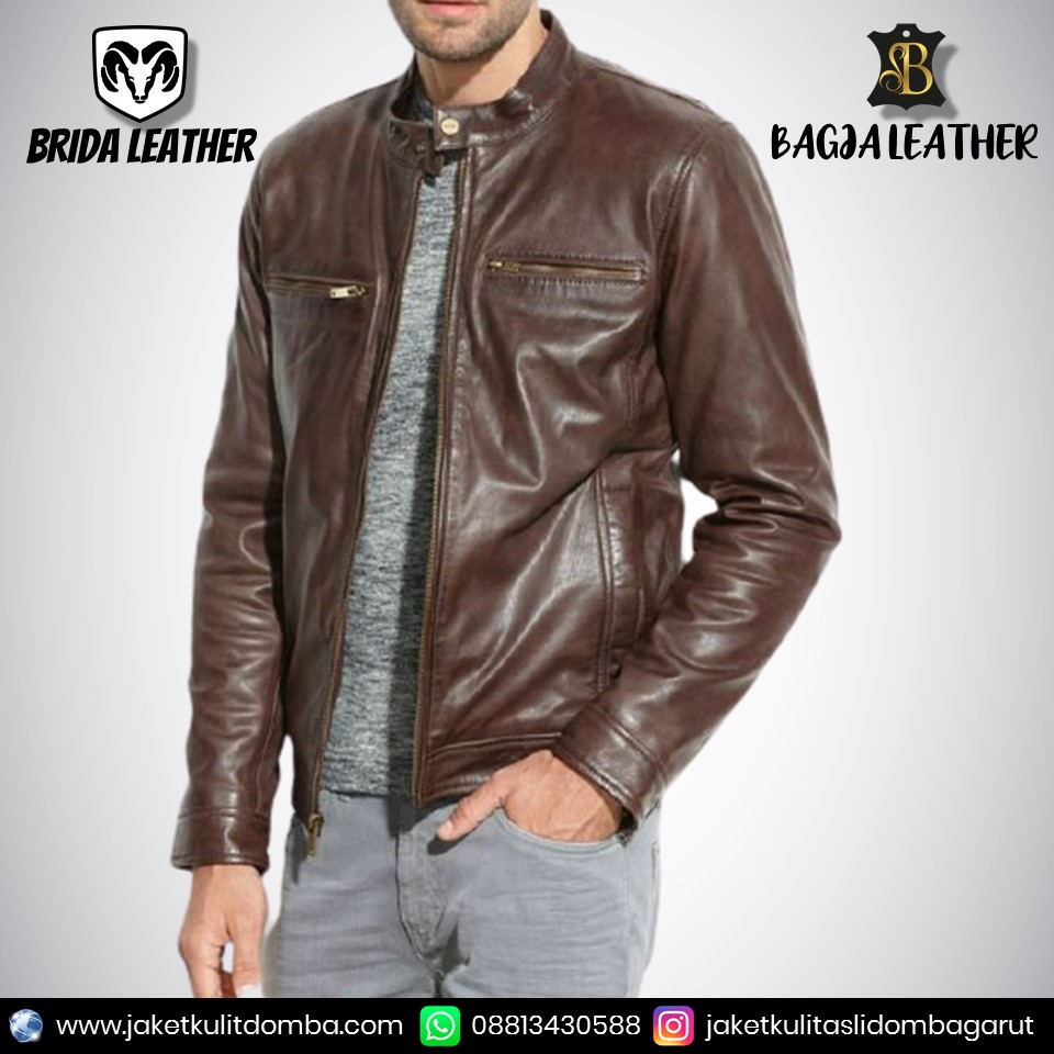 jaket kulit untuk anak laki laki
