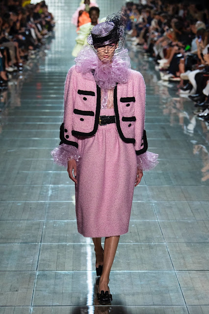 Pink suit by Marc Jacobs Spring 2019