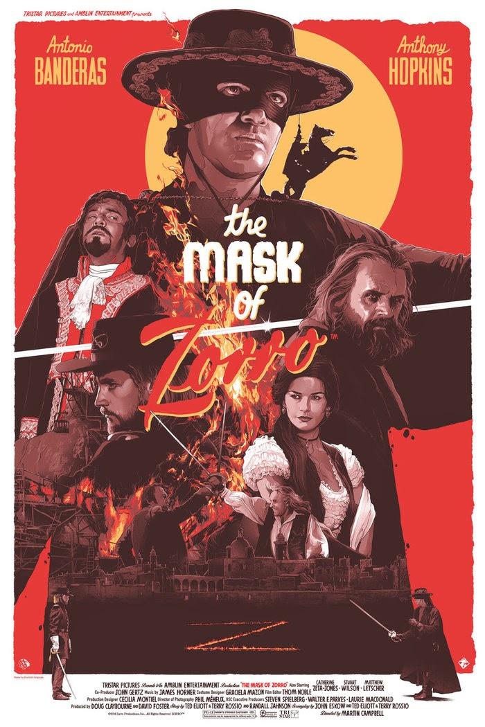 Inside The Rock Poster Frame Blog The Mask Of Zorro Gabz