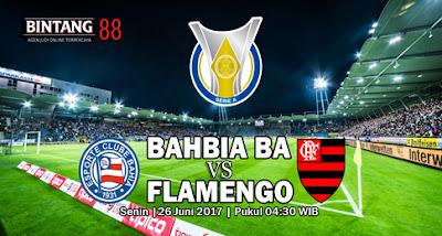 Prediksi Skor Bahia BA vs Flamengo  26 Juni 2017